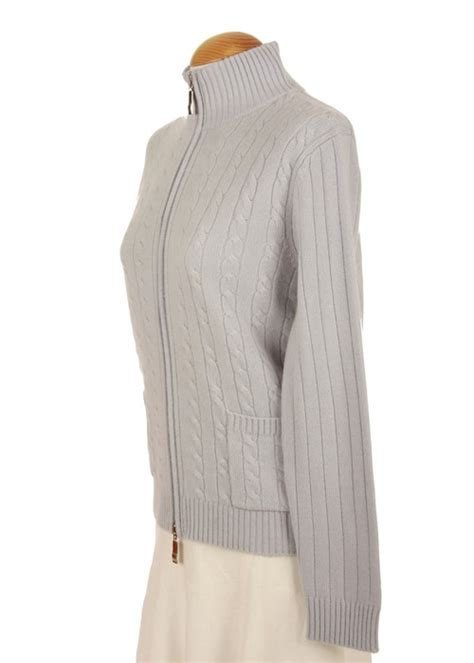 Knit Outerwear Cardigan Sky sweater with no sweater vest