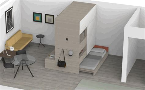 ori systems automated furniture app transforms tiny apartments into mini mansions