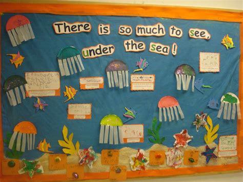 themes for english summer c ocean themed bulletin board my work pinterest