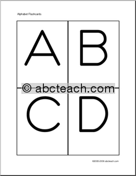 printable uppercase and lowercase alphabet flash cards alphabet letters flashcards printable free printable