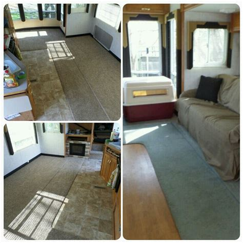 travel trailer remodel 9 before and after travel trailer remodel pinterest