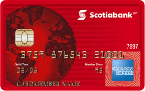 Sle Credit Card Number Canada Scotiabank American Express