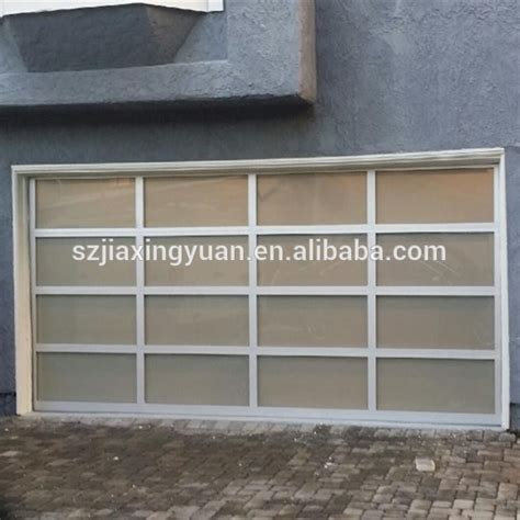 cost of sectional garage door sectional aluminum glass garage doors cost buy garage