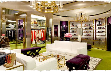home decor stores in nyc tory burch flagship store in new york meatpacking