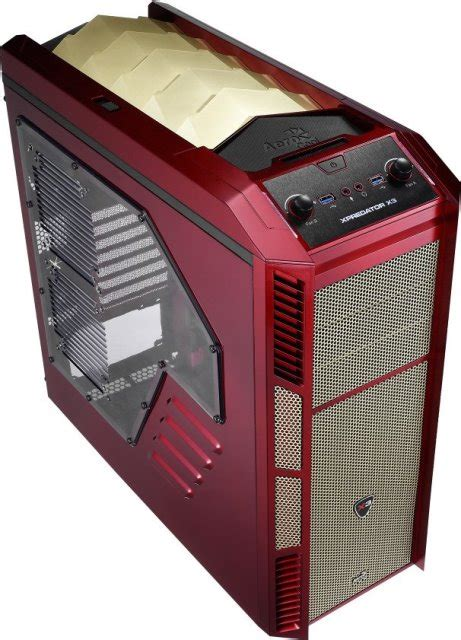 Computer Desk Mod Aerocool Xpredator Avenger And Xpredator X3 Avenger Looks
