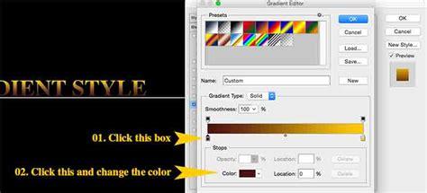 adobe illustrator cs6 gradient text gradient style effect to text in photoshop cs6 p t it