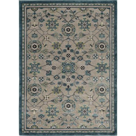 Area Rugs At Home Depot Tayse Rugs Amelie Gray 7 Ft 8 In X 10 Ft 3 In Area Rug Cbr1009 8x10 The Home Depot