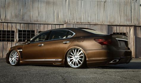bronze lexus the wilder of lexus at sema 2010 tuned