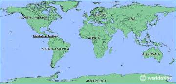 Where Is Trinidad And Tobago Located On The World Map by Where Is Trinidad And Tobago Where Is Trinidad And
