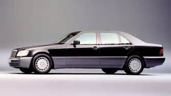 mercedes s class w140 vehicles
