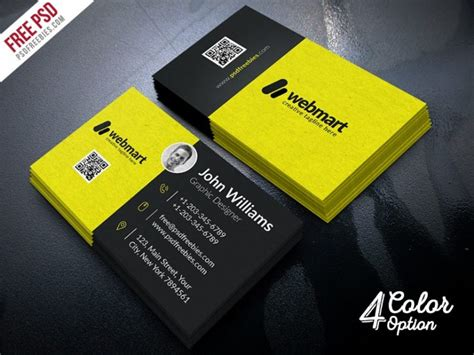 Color Logic Business Card Template Psd by Business Card Free Psd Psd