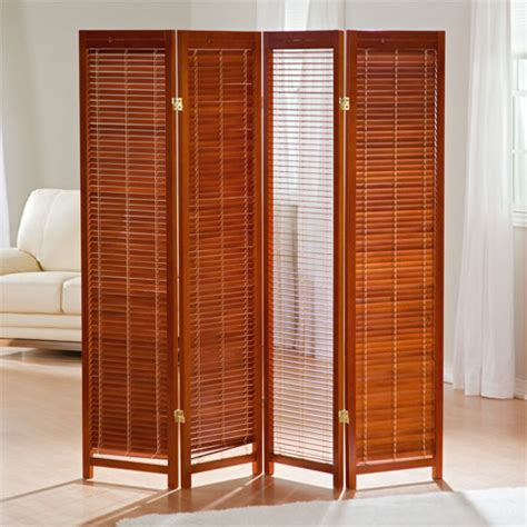 Portable Bookcase Folding Tranquility Screen Room Dividers Perfect Privacy Screen