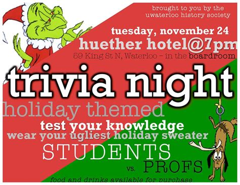 Some Fool Will Be Co Hosting Tuesday Trivia by Events History Of Waterloo