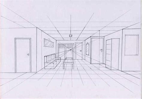 desain interior ruang tamu 1 titik lenyap cara menggambar bangunan indrachieez