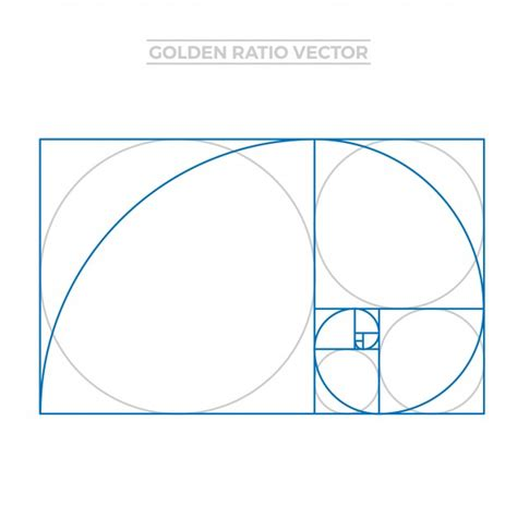 golden ratio business card template golden ratio template vector free