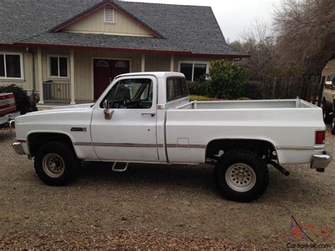 chevy bed 1986 chevy short bed 4x4 rust free