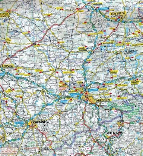 road map of germany germany road map nostromoweb