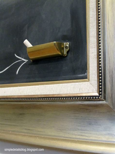 simple details diy chalk holder
