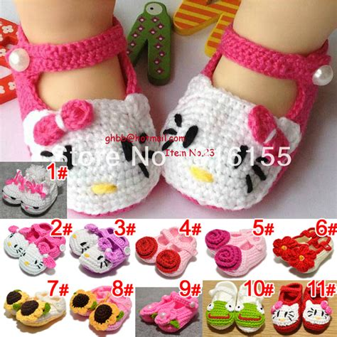 baby booties for a baby girl zapatitos para una bebe 10pairs lot cute crochet baby shoes knitting wool shoes