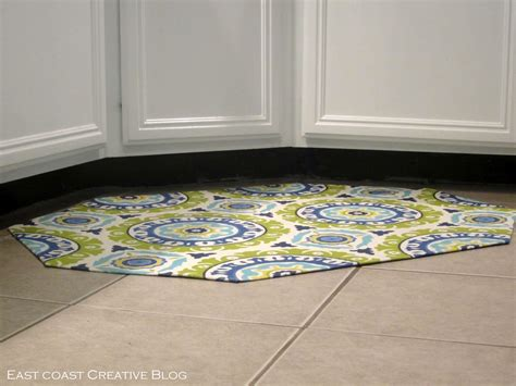 Corner Sink Kitchen Rug I Am Momma Hear Me Roar Diy Fabric Floorcloth