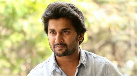 actor nani telugu actor nani s car meets with an accident rams into