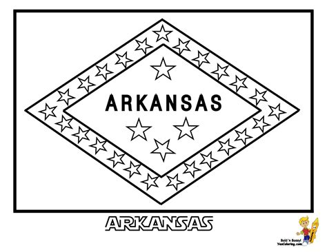 State Flags Coloring Pages patriotic state flag coloring pages alabama hawaii