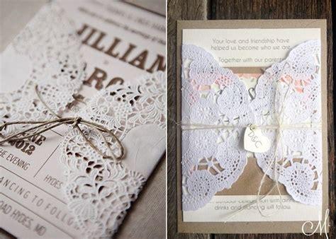 Einladungen Hochzeit Vintage Spitze by Vintage Spitze Einladung Zur Hochzeit Hochzeitseinladung