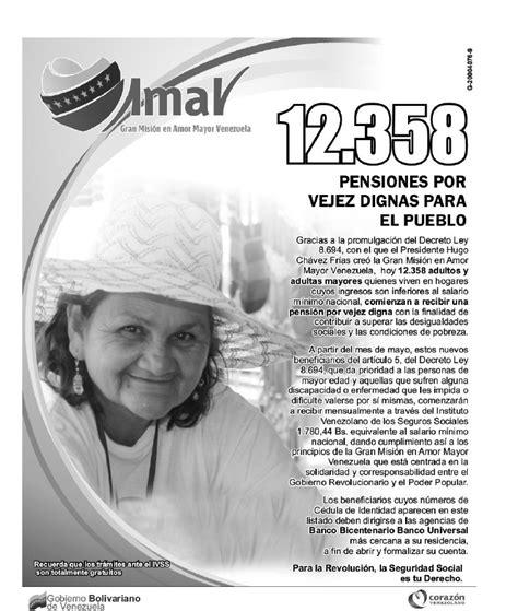 amor mayor mayo de 2016 lista amor mayor venezuela mayo