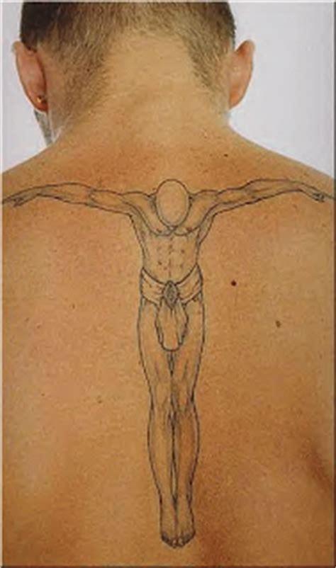 beckham tattoo back meaning david beckham
