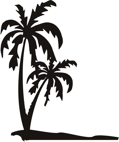 palm tree svg palm tree line drawing palm tree scal svg vinyl