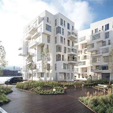 Apartment Building Design Architecture Modern Architectural Buildings Apartment By Lundgaard And