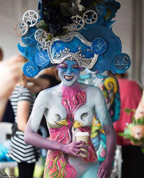 world bodypainting festival australia the best looks from the australian festival