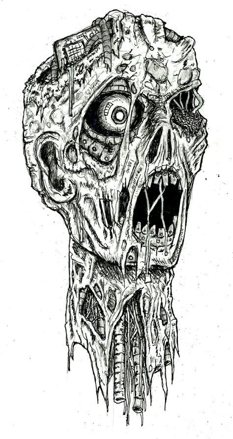 Drawing Zombies by Robot By Ayillustrations On Deviantart