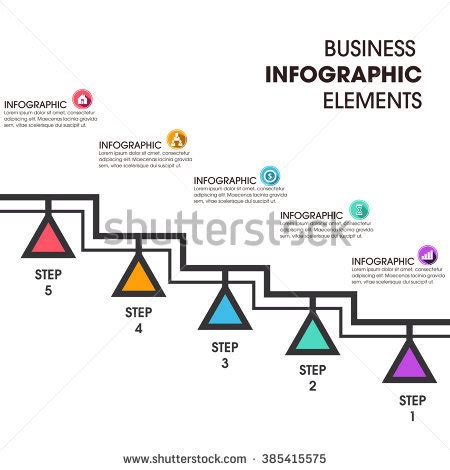 banner workflow business infographics vector illustration can be stock