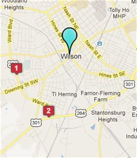 wilson carolina map wilson nc hotels motels see all discounts