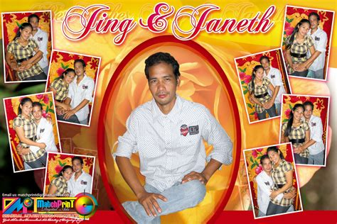 tarpaulin layout design for death sle of tarpaulin for wedding designs pictures