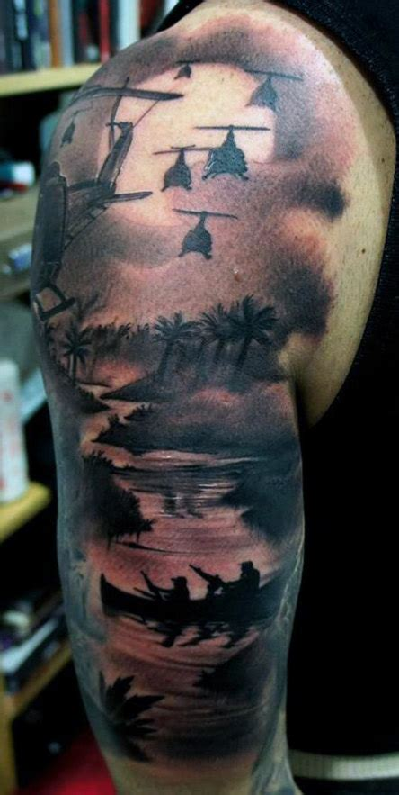 war tattoos for men top 100 best sleeve tattoos for cool designs and ideas