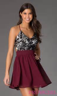 short spaghetti strap sequin party dress