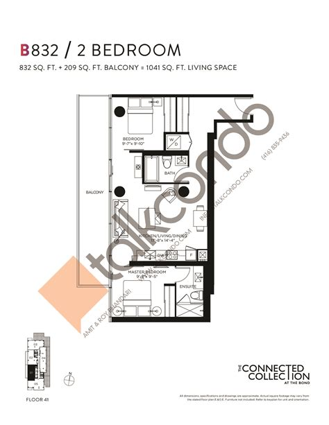 10 bond floor plans the bond condos talkcondo