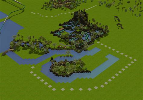swan boats theme park tycoon 2 theme park review rct3 jurassic world theme park page 2