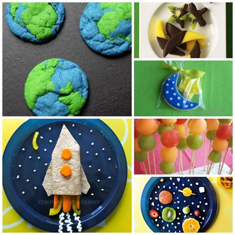 themed food space themed food food themed