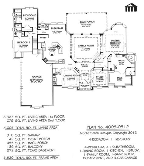 texas custom home plans game room house plans house design plans