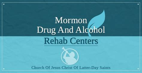 Lds Detox Center by Mormon And Rehab Centers
