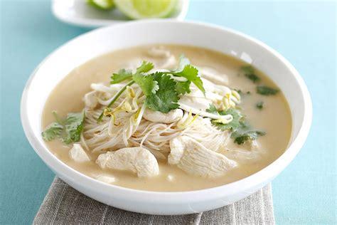thai food coconut soup