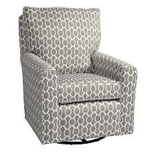 madison glider and ottoman kacy collection madison swivel glider domino silver