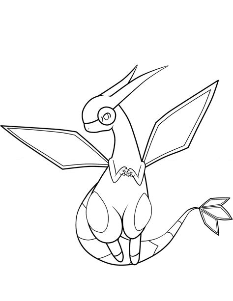 pokemon coloring pages flygon free printable pokemon coloring pages 37 pics how to
