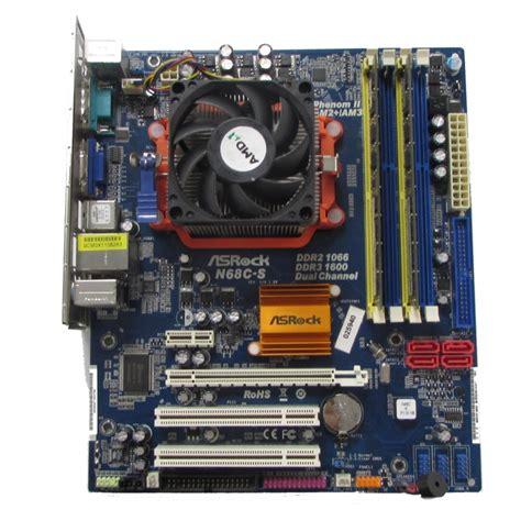 Phenom Ii X2 555 3 2ghz Am2 Plus Am3 Fan Terjamin asrock n68c s motherboard am2 am3 phenom ii x2 555 4gb