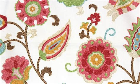 Drapery Valance Flora Dance Fabric Meadow Rlf Home