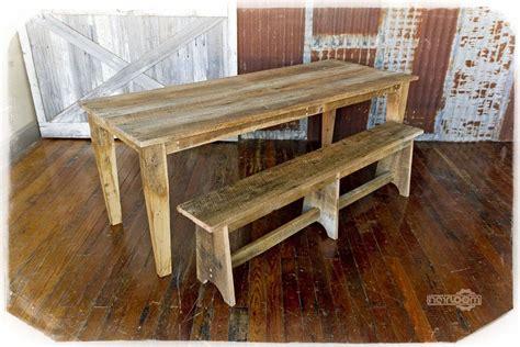 barn wood kitchen tables custom solid barn wood dining table by heirloom llc