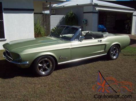 68 mustang convertible 68 ford mustang convertible rhd immaculate condition in vic